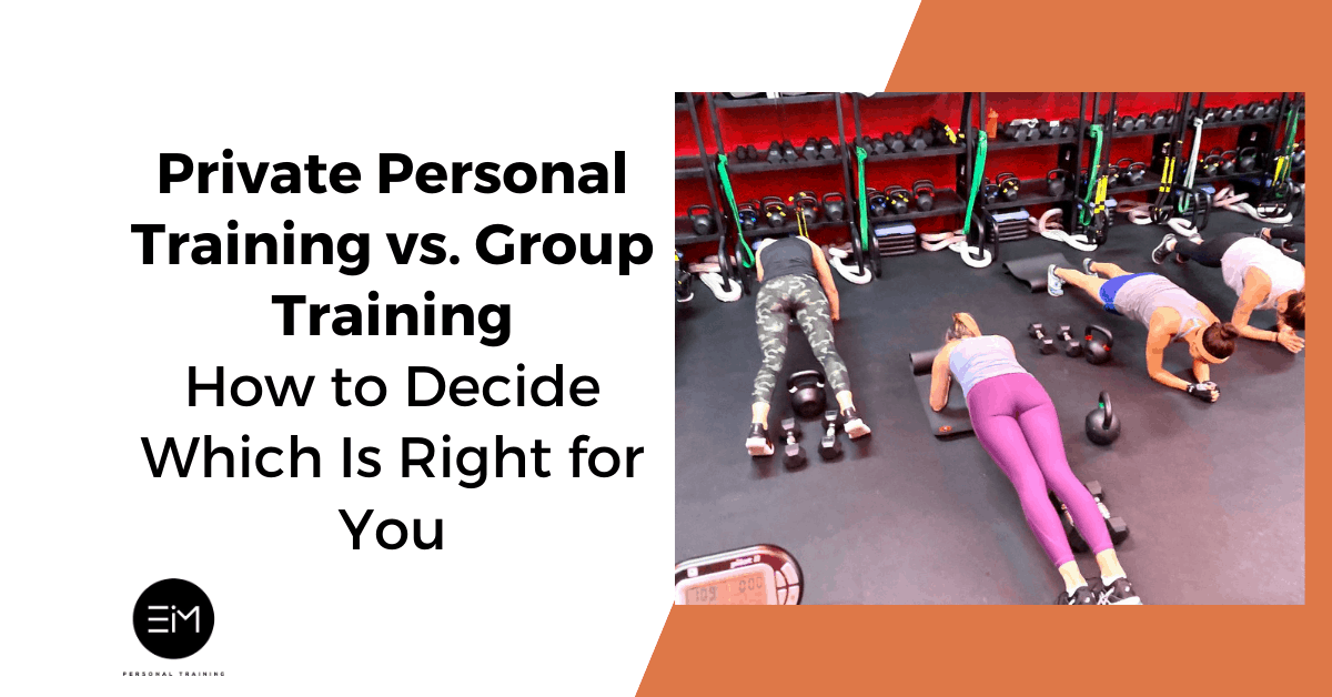 private personal training vs group training